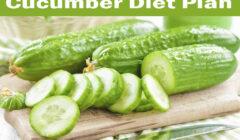Cucumber Diet Plan