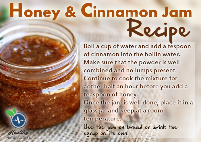 Honey cinnamon jam recipe