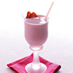 Strawberry Banana Yogurt Smoothie Recipe