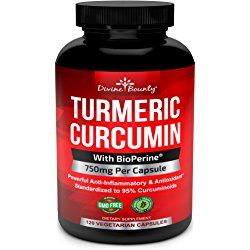 Turmeric Curcumin with BioPerine Black Pepper Extract