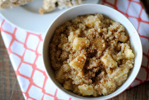 apple-cinnamon-quinoa-cereal