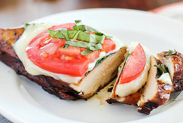 Caprese Balsamic Chicken