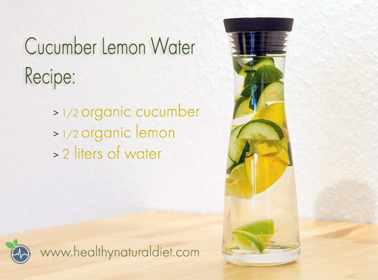 cucumber lemon water recipe