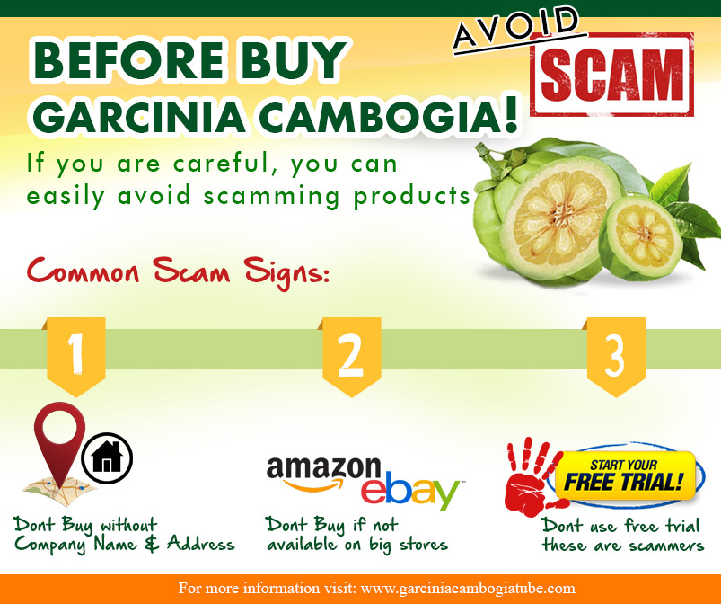 Common Signs of Garcinia Cambogia Scam