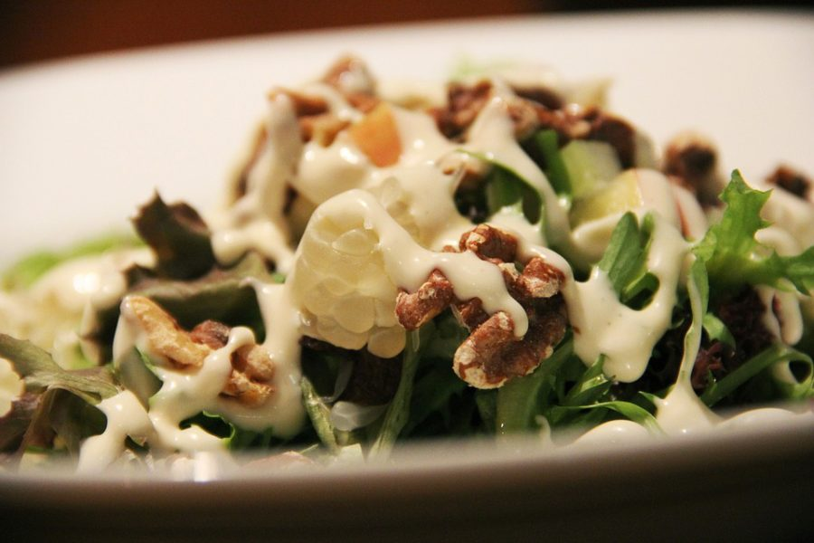 Cream-based salad dressings